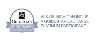ALS of Michigan is a GuideStar Exchange Platinum Participant. Donate with confidence today.