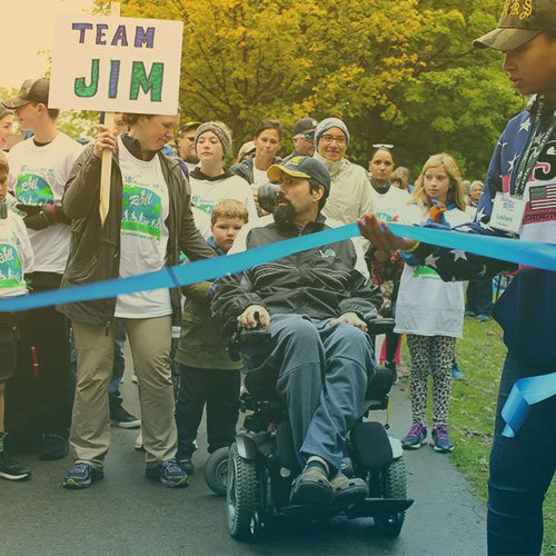 ALS of Michigan Walk N' Roll 2018: Team Jim.