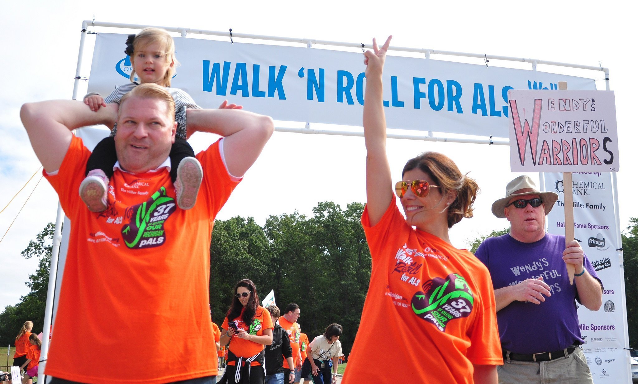 ALS of Michigan Walk N' Roll 2019 Charity Web